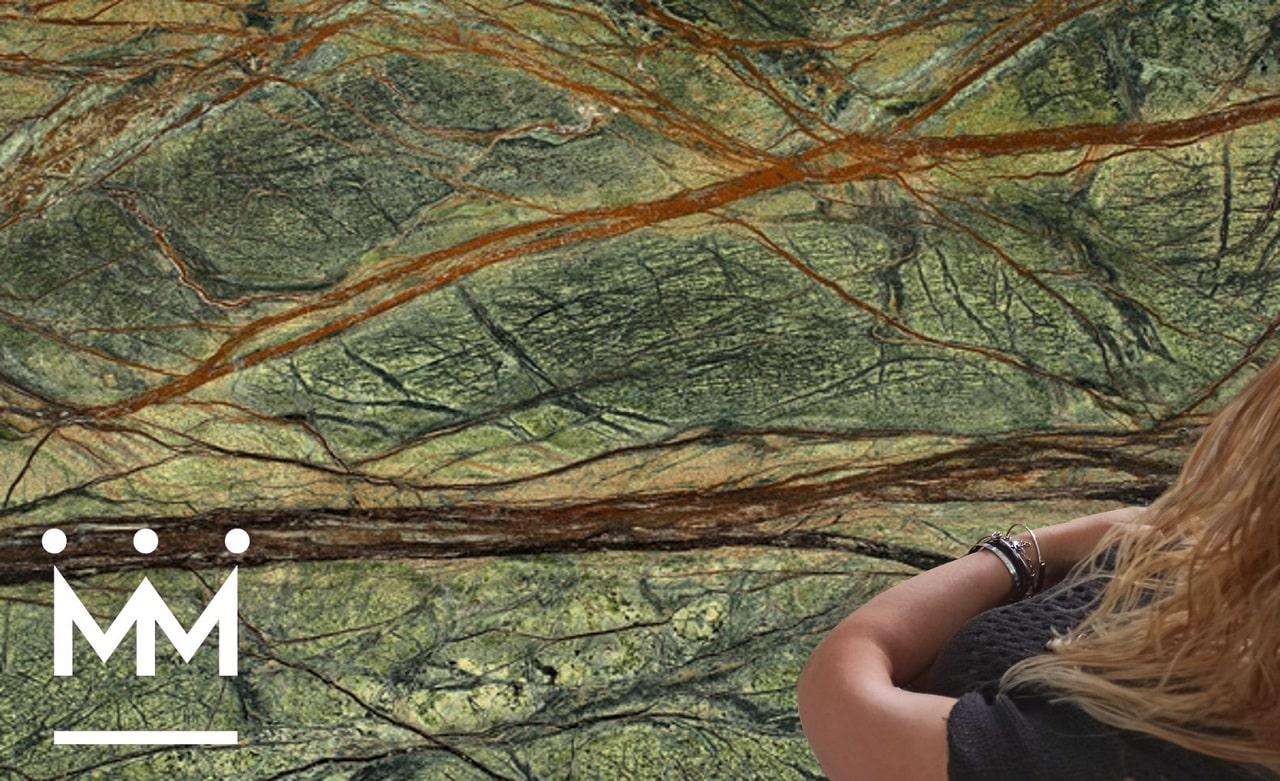You are currently viewing Forest Brown e Forest Green, i marmi che ti immergono nella natura